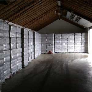 Opfyldning af lager hos Climatizer Danmark