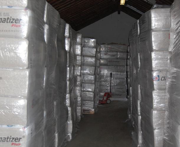 Fyldt lager hos Climatizer Plus