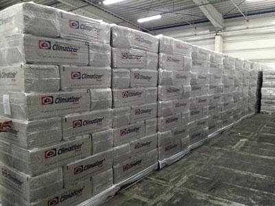 Climatizer Plus isolering - bedre densitet med nyt anlæg