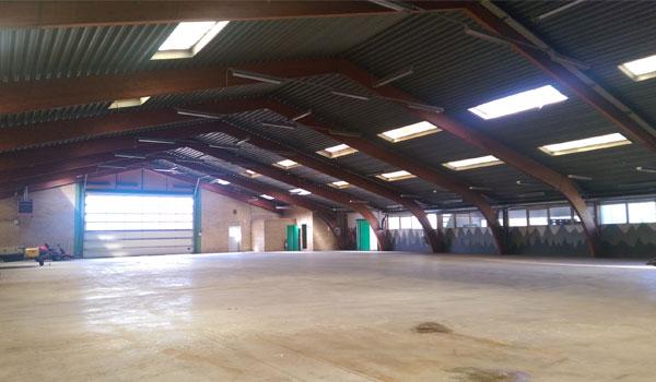 Billigt ekstra lagerplads hos Flex Lager & Depotrum i Ørbæk, Fyn