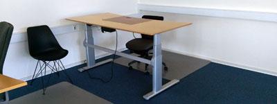 Lej en billig kontorplads, skrivebord eller et helt kontor