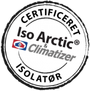 Certificeret Iso Arctic� og Climatizer Plus� Isolat�r