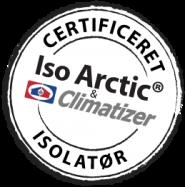 Certificeret Iso Arctic® og Climatizer Plus® Isolatør